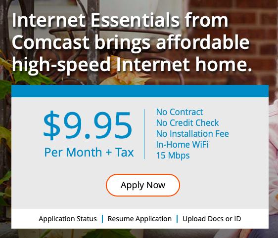 Internet Essentials Homepage Illustration