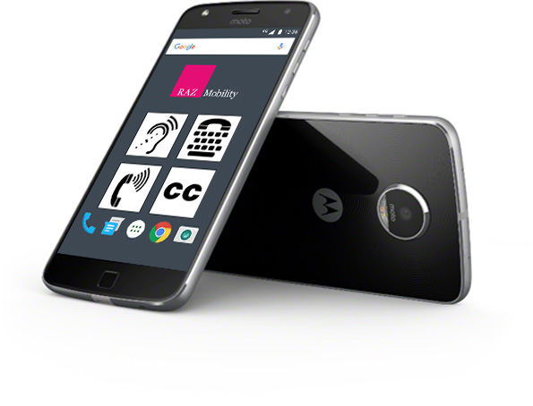 Image, two Moto Z Play smartphones