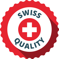 Swiss quality seal