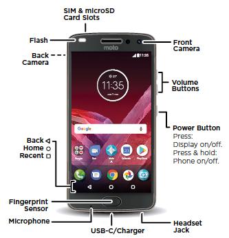 Moto Z2 Play Smartphone - Support | RAZ Mobility